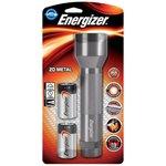 Torcia Energizer metal LED 2 D