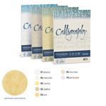 Carta Calligraphy pergamena - A4 - 190 gr - sabbia 02 - Favini - conf. 50 fogli
