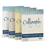 Carta Calligraphy pergamena - A4 - 190 gr - nocciola 04 - Favini - conf. 50 fogli