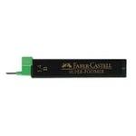 Mine in grafite - mina 1,4mm - gradazione B - Faber Castell - astuccio 6 mine