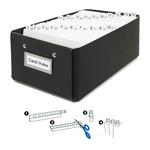 Cavalierini - 10x150 mm - bianco - 3L Office - scatola da 5 pezzi