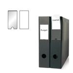 Portaetichette adesivo - PPL - trasparente - 46x75 mm - 3L - busta da 6 pezzi