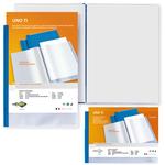 Portalistini personalizzabile Uno TI - 30x42 cm (libro) - 36 buste - blu - Sei Rota