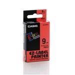Nastro - 9 mm x 8 mt - nero/rosso - Casio