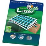 Etichette Copy Laser Premium bianche