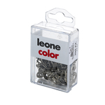 Puntine - 3 punte temperate e nichelate - Leone - scatola da 100 pezzi