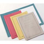 Cartelline semplici - con stampa - cartoncino Manilla 145 g - 25x34 cm - giallo - Cartotecnica del Garda - conf. 100 pezzi