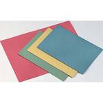 Cartelline semplici - senza stampa - cartoncino Manilla 145 gr - 25x34 cm - rosso - Cartotecnica del Garda - conf. 100 pezzi