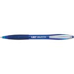 Penna a sfera a scatto Atlantis Classic - blu - punta 1,0mm - Bic - scatola 12 penne