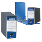 Registratore Oxford G81 - dorso 8 cm - memorandum - blu - Esselte