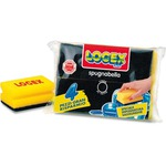 Spugnabella con impugnatura - Logex Professional - conf. 4 pezzi