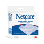 Garze sterili soffici - Nexcare - scatola da 100 pezzi (4 buste da 25 garze)