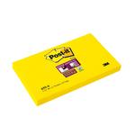 Blocco foglietti Post it® Super Sticky - giallo oro - 76 x 127mm - 90 fogli - Post it®