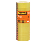 Nastro adesivo Scotch® 508 - 19 mm x 33 mt - trasparente - Scotch® -  torre 8 rotoli