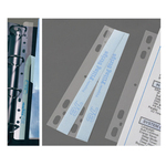 Bandelle adesive Filing Strips - 29,5 cm - bianco - 3L Office - conf. 100 pezzi