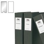 Portaetichette adesivo - PPL - 25x75 mm - trasparente - 3L - conf. 12 pezzi