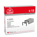 Punti S15 - 23/15 - acciaio - metallo - Romeo Maestri - conf. 1000 pezzi