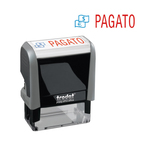 Timbro Office Printy Eco - PAGATO - 47x18 mm - Trodat®