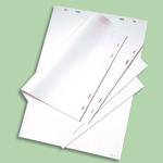 Blocco per lavagna - 20 fogli - 65x95,5 cm - quadretti 5x5 cm - Nobo