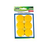 Bottoni magnetici - verde - diametro 40 mm - Lebez - blister 12 pezzi