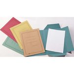 Cartelline 3 lembi - con stampa - cartoncino Manilla 200 gr - 25x33cm - rosa - Cartotecnica del Garda - conf. 50 pezzi