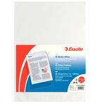 Cartelline a L - Office - PP - buccia - 22x30 cm - trasparente - Esselte - conf. 50 pezzi