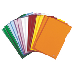 Cartelline a L - PVC - liscio - 21x29.7 cm - trasparente - Esselte - conf. 25 pezzi