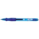 Penna a sfera a scatto Gelocity - blu - punta 0,7mm - Bic - scatola 12 penne