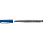 Marcatori permanente Marking a base d\alcool - punta pocket tonda 1,10mm - blu - Bic - conf. 12 pezzi
