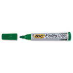 Marcatori Marking - verde - punta tonda 1,7mm- inchiostro permanente - Bic - scatola 12 marcatori