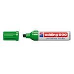 Marcatore 500 - verde - punta da 2,0 a 7mm - inchiostro permanente - Edding
