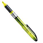 Evidenziatore Stabilo Navigator - punta scalpello - tratto da 1,0-4,0mm - giallo - Stabilo