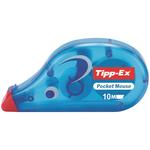 Correttore a nastro Pocket Mouse - 4,2mm x 10mt - Tipp Ex - box 10 correttori