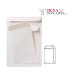 Busta a sacco bianca - serie Competitor - certificazione FSC - strip adesivo - 250x353 mm - 80 gr - Pigna - conf. 500 pezzi