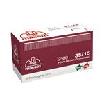 Punti 35/15 per Romabox - rame - altezza 15 mm - Romeo Maestri - scatola da 2500 pezzi
