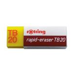 Gomma TB20 - gomma per matita e china - Rotring - box 20 gomme
