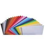 Cartoncino Elle Erre - 50x70cm - 220gr - nero 115 - Fabriano -  blister 20 fogli