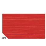 Carta crespa - 50x250cm - 60gr - rosso ciliegia 790 - Sadoch - Conf. 10 rotoli
