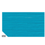 Carta crespa - 50x250cm - 60gr - turchese 650 - Sadoch - Conf.10 rotoli