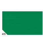 Carta crespa - 50x250cm - 60gr - verde bandiera 470 - Sadoch - Conf.10 rotoli