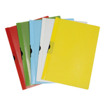 Cartellina con molla Spring File - PPL - 22x31 cm - dorso 5 mm - rosso - Methodo