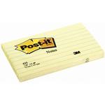 Blocco foglietti - giallo Canary - 76 x 127mm - 100 fogli - Post It