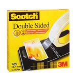 Nastro biadesivo Scotch® - permanente - senza liner - 33 m x 12 mm - trasparente - Scotch®