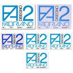 Blocco F2 - 330x480mm - 12fg - 110gr - liscio - collato - Fabriano