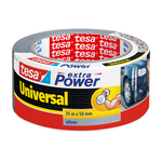 Nastro adesivo Tesa® Extra Power Universal - 25 m x 50 mm - grigio - Tesa