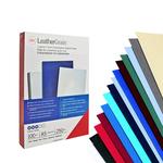 Copertine Leathergrain - A3 - 250 gr - nero goffrato - GBC - scatola 100 pezzi