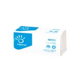 Asciugamani piegati a C - 33x23 cm - goffratura a onda+ - 19,5 gr - bianco - Papernet - conf. 144 pezzi