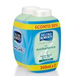 Ricarica di sapone liquido - antibattericol - Neutro Roberts - conf. 2 pezzi da 300 ml
