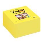 Blocco foglietti Post it® Super Sticky - giallo oro - 76 x 76mm - 350 fogli - Post it®