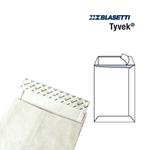 Busta a sacco in Tyvek - serie Postyvek - strip adesivo - 229x324 mm - 55 gr - Blasetti - conf. 100 pezzi